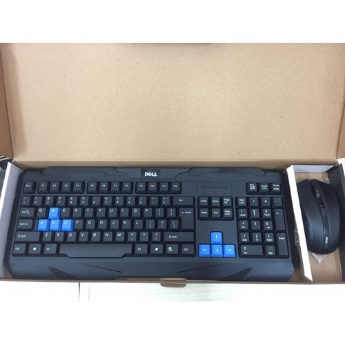 Combo chuột và bàn phím không dây Dell M400 - 10535130 , 8203306 , 15_8203306 , 235000 , Combo-chuot-va-ban-phim-khong-day-Dell-M400-15_8203306 , sendo.vn , Combo chuột và bàn phím không dây Dell M400