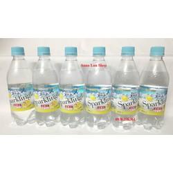 Combo 4 chai nước suối vị chanh - Suntory - Nhật