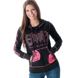 Áo khoác nữ có nón vnxk Carlifornia thương hiệu Girls With Guns