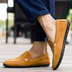 Giày Lười Nam Cao Cấp Kiểu Dáng Thời Trang Hàn Quốc