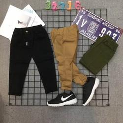 quần kaki cho bé từ 2 tuổi đến 10 tuổi