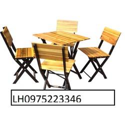 bàn ghế gỗ giá siêu hấp dẫn