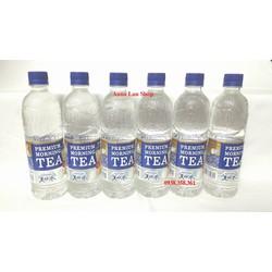 Combo 6 chai nước suối vị trà sữa - Suntory - Nhật