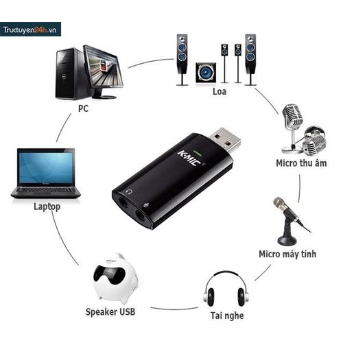 Card âm thanh gắn ngoài cho máy tính K-Mic KM720 - 10533927 , 8191857 , 15_8191857 , 270000 , Card-am-thanh-gan-ngoai-cho-may-tinh-K-Mic-KM720-15_8191857 , sendo.vn , Card âm thanh gắn ngoài cho máy tính K-Mic KM720