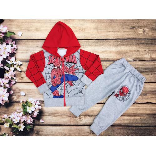 Bộ áo khoát người nhện spider man cho bé trai - 10533697 , 8190031 , 15_8190031 , 190000 , Bo-ao-khoat-nguoi-nhen-spider-man-cho-be-trai-15_8190031 , sendo.vn , Bộ áo khoát người nhện spider man cho bé trai