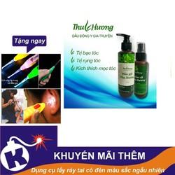 Bộ 2 dầu gội và 2 dầu xịt Thu Hương + Tặng dụng cụ lấy ráy tai có đèn