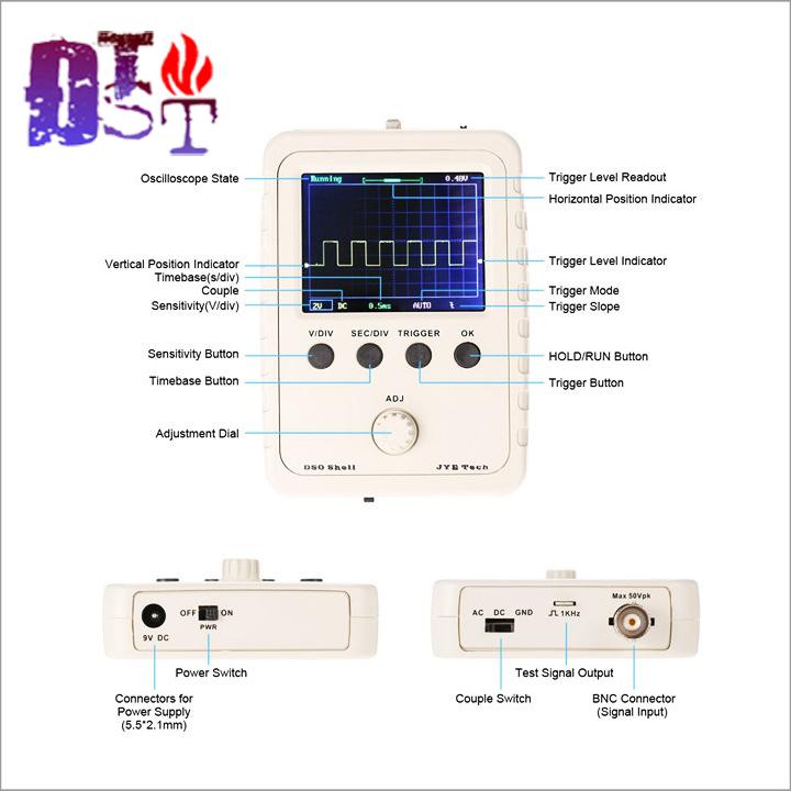 Máy hiện sóng kỹ thuật số cầm tay DSO150 3