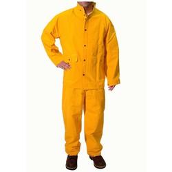 Bộ quần áo mưa Haco màu vàng