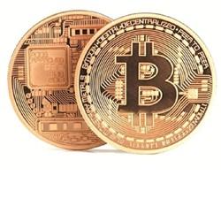 Đồng Bitcoin Quà Lưu Niệm