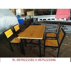 bàn ghế nhà hàng bán tại cty