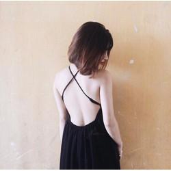Đầm Xòe Cúp Ngực Hở Lưng Xinh Quá Xá