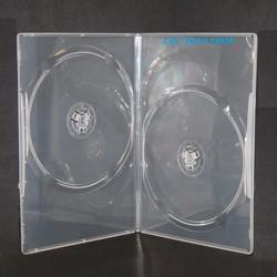 Bộ 10 Hộp đựng đĩa CD DVD LOẠI DÀY MÀU TRẮNG HỘP ĐỰNG 2 ĐĨA
