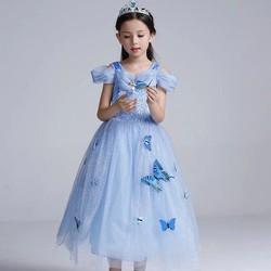 Đầm công chúa Lọ Lem ngắn tay BB06