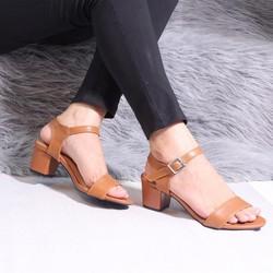 Giày sandal cao gót nữ đế vuông