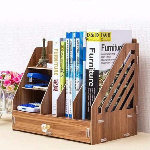 Kệ sách gỗ mini để bàn làm việc - 10536153 , 8211933 , 15_8211933 , 490000 , Ke-sach-go-mini-de-ban-lam-viec-15_8211933 , sendo.vn , Kệ sách gỗ mini để bàn làm việc