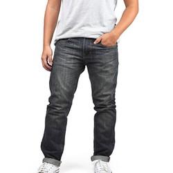 Quần jean nam đơn giản màu xanh rêu A3334