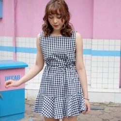Váy caro xòe cực xinh