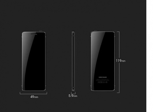 Điện thoại Vicool V66 Plus 2018 kết nối bluetooth siêu mỏng Full Box 5