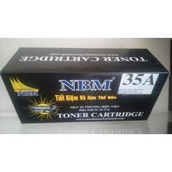 HỘP MỰC IN LASER NBM 35A, HỘP MỰC HP 35A, HP CB435A, CANON 312