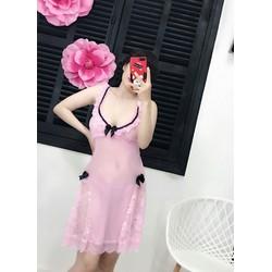 Váy Ngủ Sexy Cao Cấp Chất Liệu Ren H07