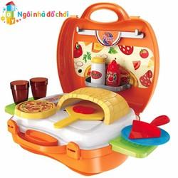 Đồ chơi valy Bowa làm bánh Pizza 8313 DOCHOI
