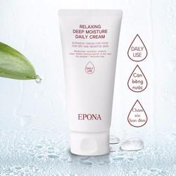 Kem Dưỡng Ẩm Hàng Ngày EPONA Moisture Daily Cream - Jeju [Hàn Quốc]