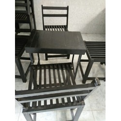 thanh lý bàn ghế gỗ thao lao giá rẻ