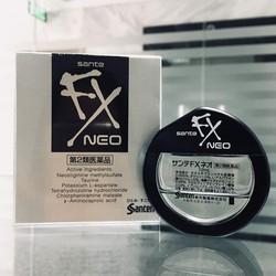 THUỐC NHỎ MẮT SANTEN FX 12ml - Made in Japan