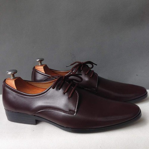 Giày tây nam da màu