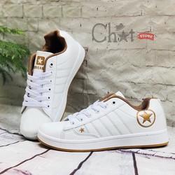 Giày Sneaker Nữ Cổ Thấp Ngôi Sao