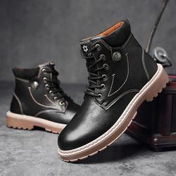 Giày bốt nam thời trang thu đông 2017, hàng nhập khẩu - Mã số SH1709