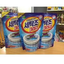 Combo 2 bịch Bột tẩy lồng máy giặt 450G