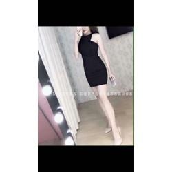 Đầm cổ yếm ôm body