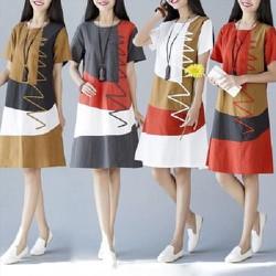Đầm suông,chữ A phong cách Hàn Quốc