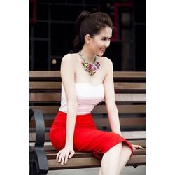 Đầm ống cúp ngực đẹp thiết kế ôm body như Ngọc Trinh