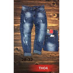 Quần jeans nam co giãn óng côn