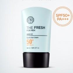 Kem chống nắng cho nam The Fresh For Men Sports Sun Cream SPF50+