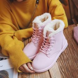 Giày Bốt Nữ dễ thương phong cách thời trang Hàn Quốc - XS0483