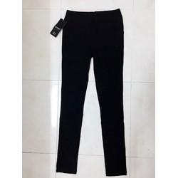 Quần skinny đen Quảng Châu lưng thun form chuẩn