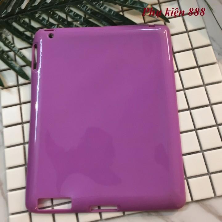 Ốp lưng Ipad 2,3,4 silicon dẻo 3