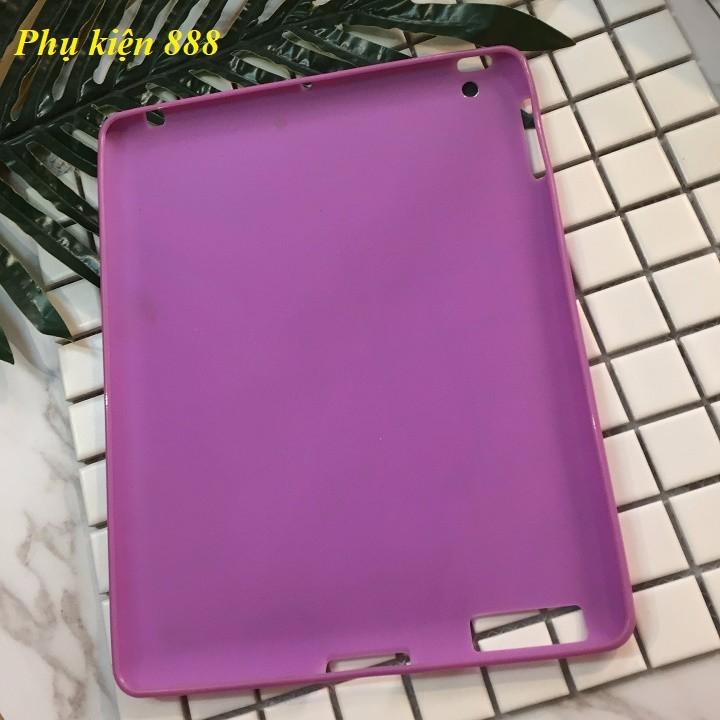 Ốp lưng Ipad 2,3,4 silicon dẻo 1