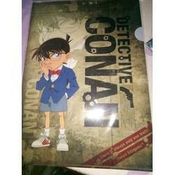 Bìa hồ sơ Conan A4 [made in Japan]