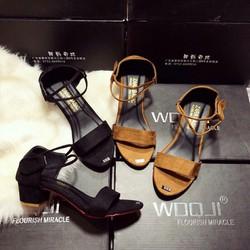 sandal hai quai hậu
