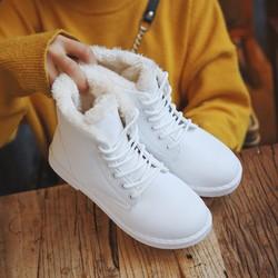 Giày Bốt Nữ dễ thương phong cách thời trang Hàn Quốc - XS0484