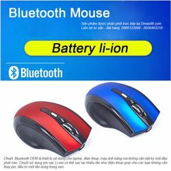 Chuột không dây Bluetooth sử dụng Pin sạc Li-ion