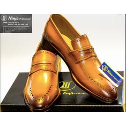 giày tây da bò lười nam da thời trang cao cấp hàng nhập khẩu