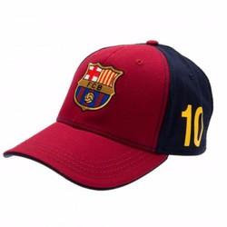 Mũ Nón thời trang thể thao FCB đỏ đen