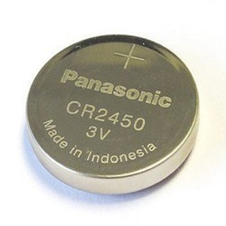 Pin CR2450 Panasonic 3v Lithium chính hãng Vỉ 1 viên