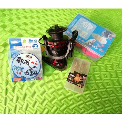 Máy câu Yumoshi 6000 + Dây shimano + com bo 4 lưỡi câu lancer - 4970000 , 8234139 , 15_8234139 , 573000 , May-cau-Yumoshi-6000-Day-shimano-com-bo-4-luoi-cau-lancer-15_8234139 , sendo.vn , Máy câu Yumoshi 6000 + Dây shimano + com bo 4 lưỡi câu lancer