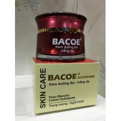 Kem dưỡng ẩm trắng da Bacoe 12g